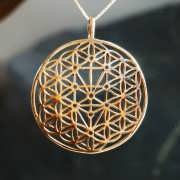 Flower and Tree of Life Gold 836