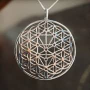 Flower and Tree of Life Silver 835