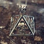 The Four Angels Amulet Silver