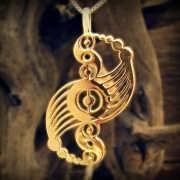 Кулон «Галактическая гармония», золото 586