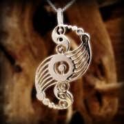 Galactic Harmony Pendant Silver 585