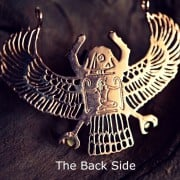 Genuine Egyptian Scarab Talisman Gold