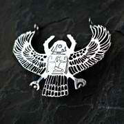 Genuine Egyptian Scarab Silver 791