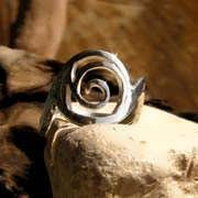 Healing Rafa Ring Silver 548