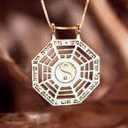 I Ching Pendant Gold 211