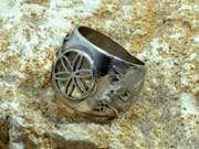 Jerusalem Ring Silver 61