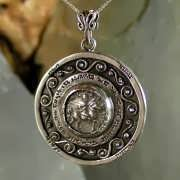 Journey of Life Pendant Silver (Round) 794