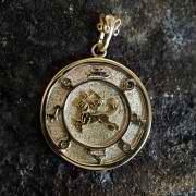 Jupiter Sagittarius Round Talisman Gold (*Limited Edition*) 939