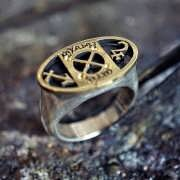 Jupiter in Sagittarius Talisman Ring Silver and Gold (*Limited Edition*) 930