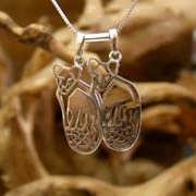 Lion Cubs For Mother's Pendant Silver 644