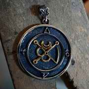 Mars in Aries Talisman Silver and Gold (*Limited Edition*) 937