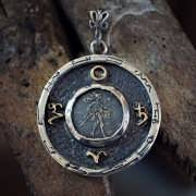 Mars Saturn Talisman Silver And Gold (*Limited Edition*)