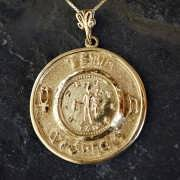 Mercury Practical Wisdom Talisman Gold (*Last Two!*) 865