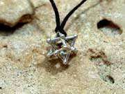 Merkaba 14 Points Silver Small 68