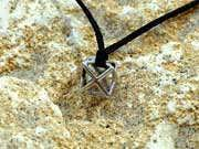 Кулон «Меркаба», серебро, маленький 26