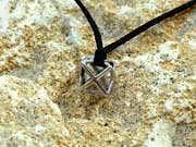 Merkaba Pendant Silver Small 26