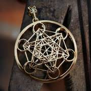 Metatron Cube Gold 342