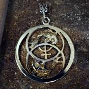 Neptune in Pisces Talisman Silver and Gold (*Limited Edition*) 875