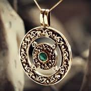 Norse Amulet Gold 881