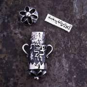 オーヴァー - 魂のペンダント シルバー
