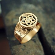 Pentalpha (Venus) Ring Gold (*Limited Edition*)
