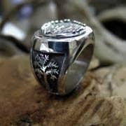 Rebels Ring Silver 627