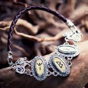 Runes Bracelet Silver 429