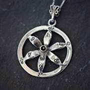 Solar Flower Equinox Talisman Silver and Gold (*Limited Edition*) 946
