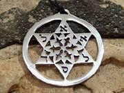 Estrella de David plata 29