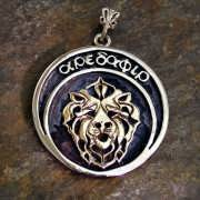 Tenth Mansion Talisman (Aredafir) Silver and Gold (*Limited Edition*) 884