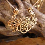 The Earth Element Pendant Gold 601