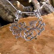 The Earth Element Pendant Silver 600