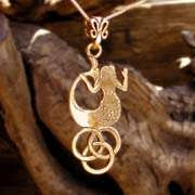 The Water Element Pendant Gold 603