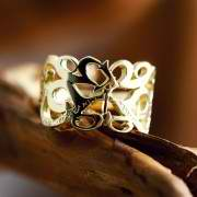 This Too Shall Pass Ring Gold 611