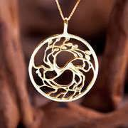 Tree of Love Gold Pendant 711
