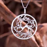 Tree of Love Silver Pendant 710