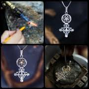 Divine Love Talisman (Venus In Pisces) Silver And Gold With Diamond (*Limited Edition*) 635