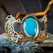 Viking's Freedom Bracelet Gold 149