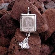 Virgo Jewelry Pendant Silver (*Last Two!*) 537