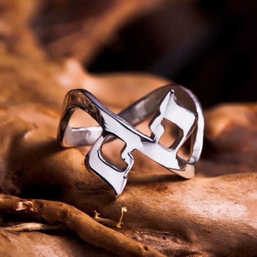 Кольцо «Ахава» (Любовь), серебро