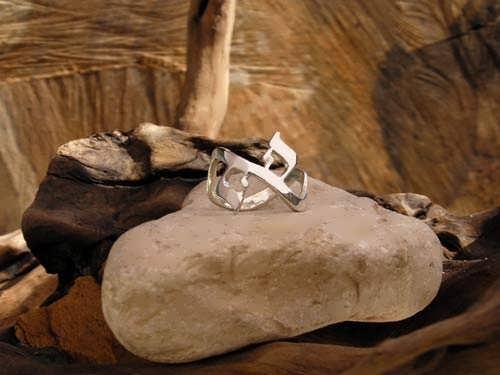 AHAVA Ring Silber