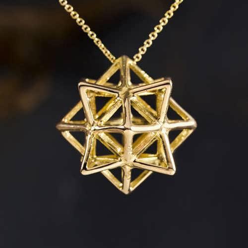 Кулон «Алхимия», Gold