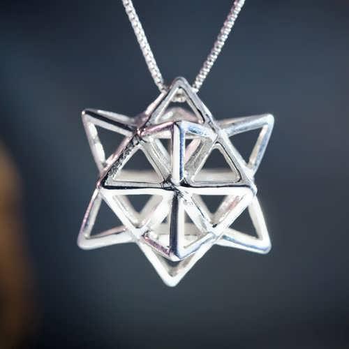 Кулон «Алхимия», серебро