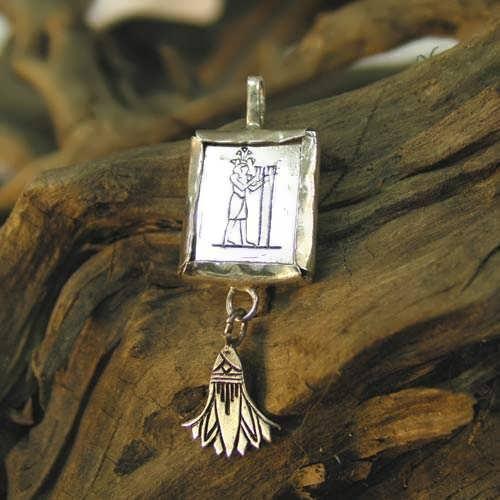Кулон «Водолей», серебро (*Sold Out!*)