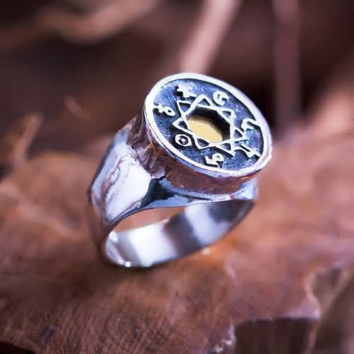 Die Sieben Metalle der Astrologie - Ring (*Limited Edition*)
