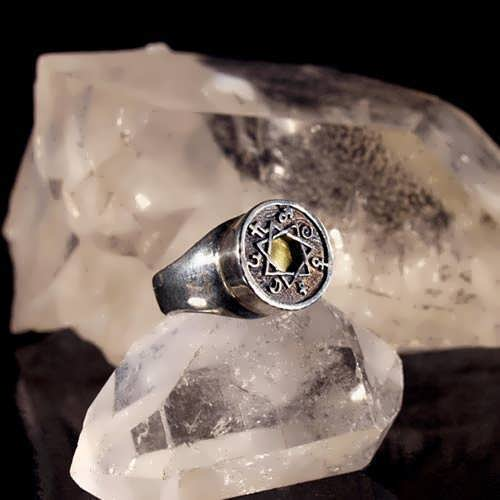 Anello del astrologia 7 metalli (*Limited Edition*)