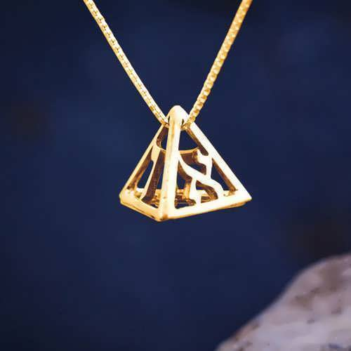 Confidence Pendant Gold