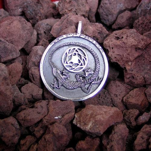 Colgante de plata Adivinación