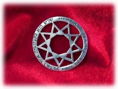 Ciondolo Enneagramma - argento
