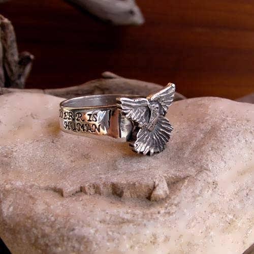 Forgiveness Ring Silver